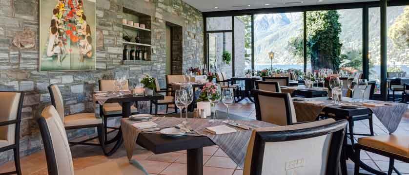 Romantik Hotel Castello Seeschloss, Ascona, Ticino, Switzerland -  dining room.jpg